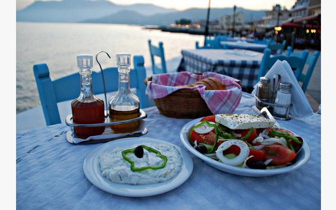 гастрономічна подорож по Греції