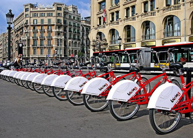 прокат велосипедів у Барселоні