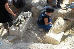 Гробниця з саркофагами постмінойского періоду виявлена в Іракліоні