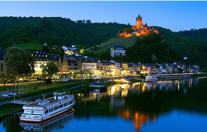 Круїз по Рейну - незвичайний спосіб провести медовий місяць