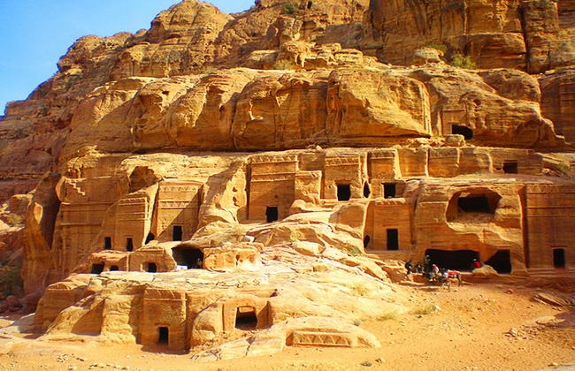 місто Петра в Йорданії