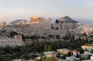 Нові знахідки в центрі Афін