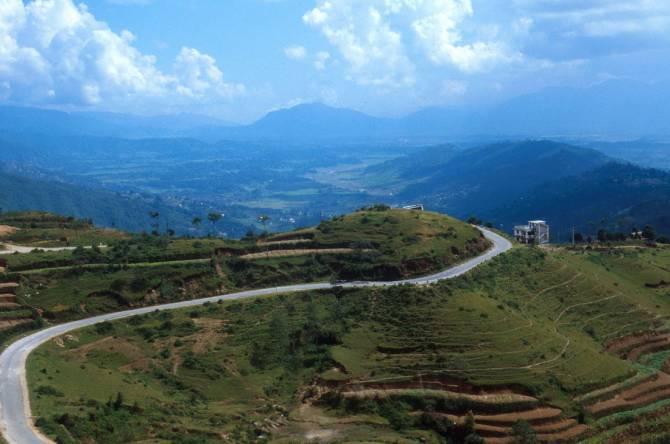 красивые горные пейзажи Непала