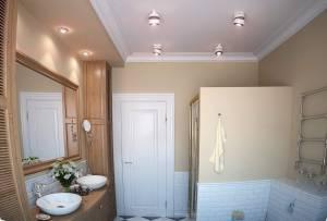 Освещение ванной: интересные идеи
