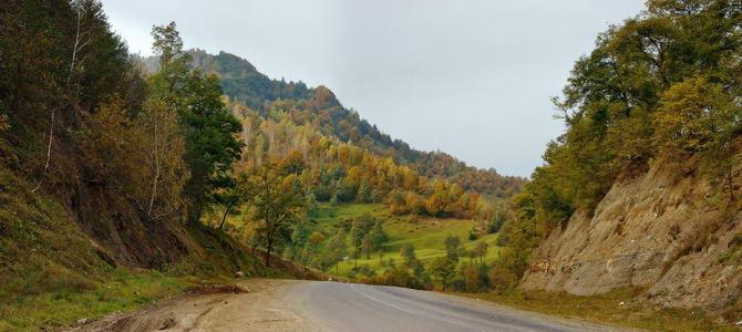 пейзажи Карпатских гор
