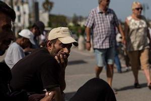 потік біженців на грецькі острови