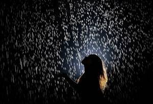У китайському місті Шанхай відкрилася Кімната Дощу