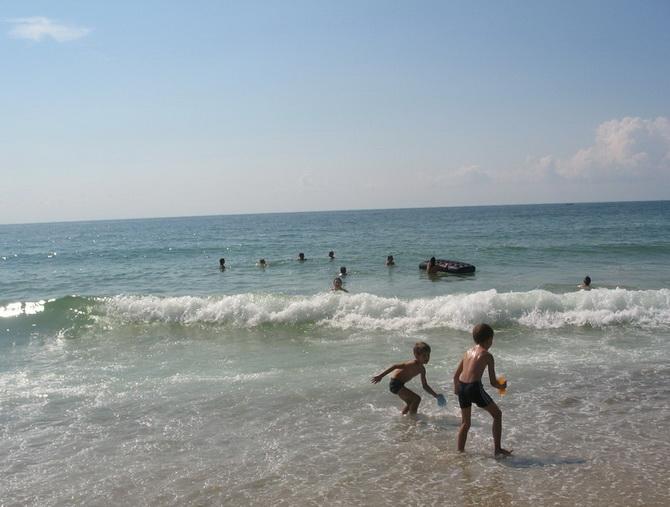 Пляжний відпочинок. Болгарія у вересні
