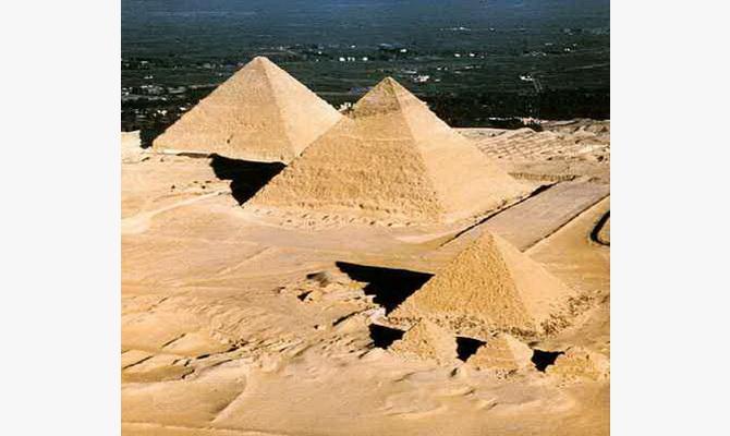 загадки пірамід Гизи