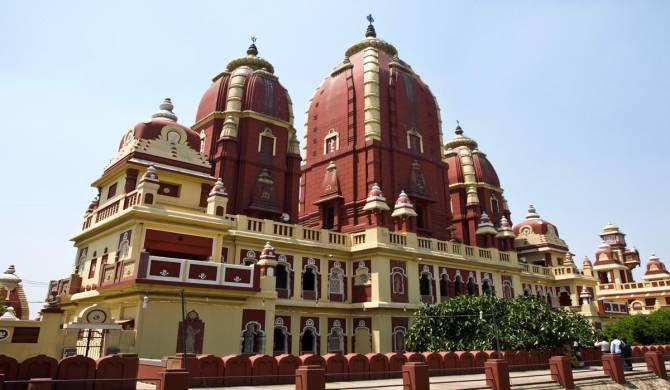 Делі. Фото храму Лакшми-Нарайан
