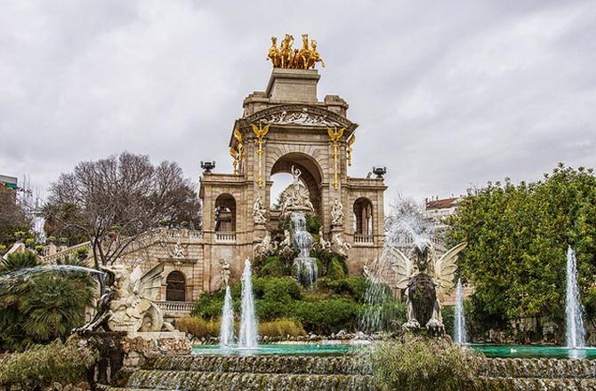 Парк Parc Ciutadella