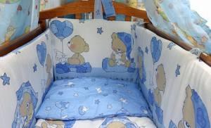 набори в дитяче ліжко