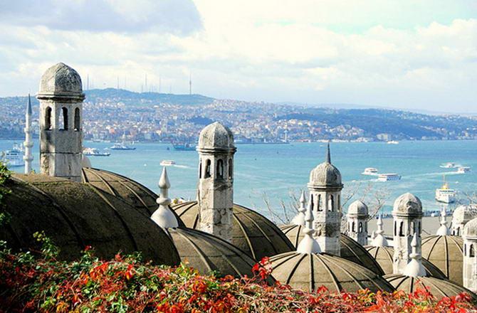 Стамбул восени