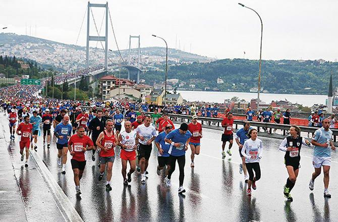 Стамбул марафон