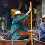 Плавучий ринок у Бангкоку (Damnoen Saduak)