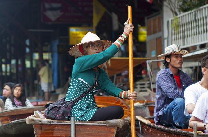 плавучий ринок у Бангкоку