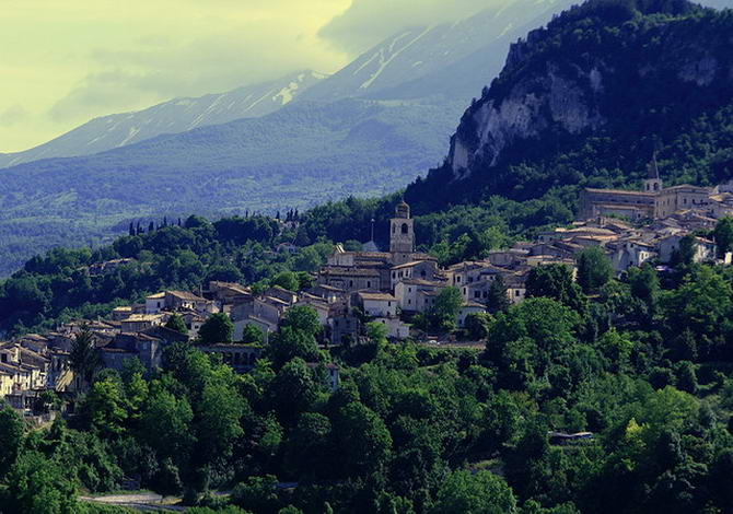 Караманіко-Терме, Абруццо
