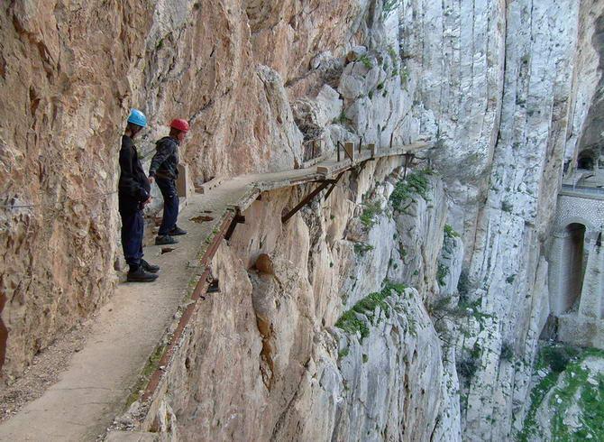 Королівська стежка в Іспанії