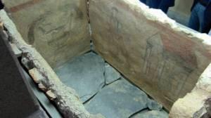 У пловдивському Археологічному музеї виставлена ранньохристиянська гробниця