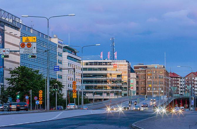 дорожній рух в Хельсінкі