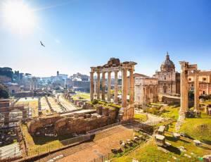 Древні руїни, Рим