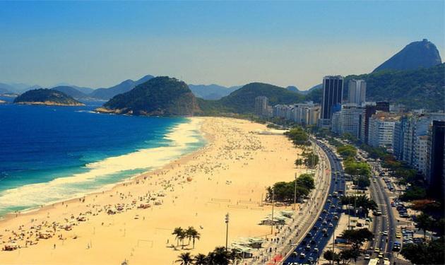 кращий пляж Бразилії - Копакабана