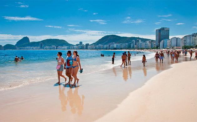 пляжі Бразилії в січні