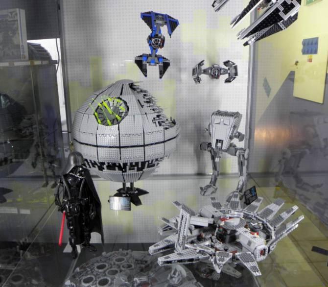 Музей Lego - Зоряні війни