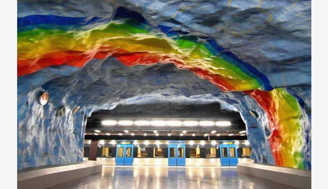 станція Стадіон у Стокгольмі