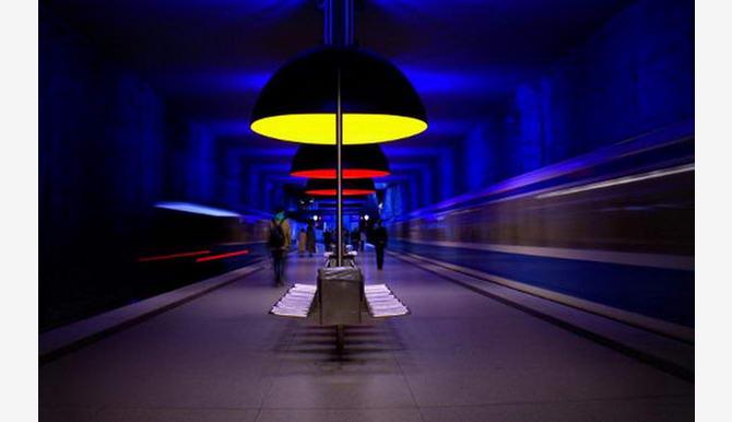 станція Вестфрідхоф у Мюнхені
