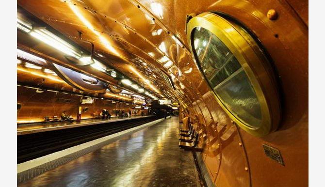 станція Мистецтв і Ремесел у Парижі
