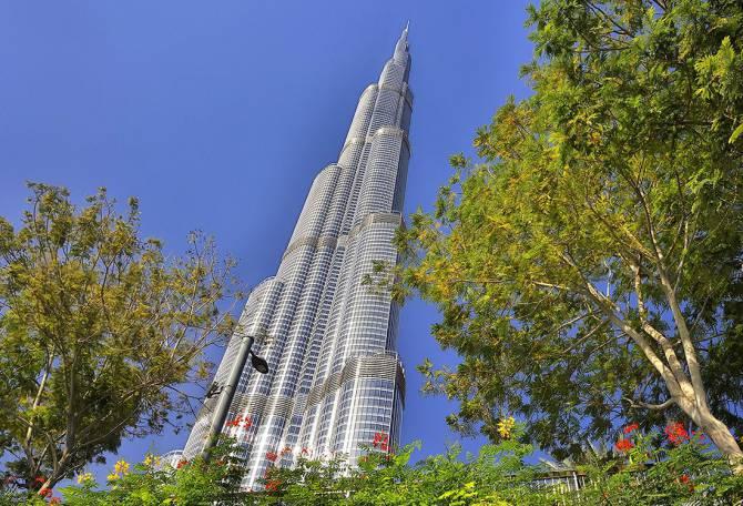 ОАЭ. Дубайский небоскрёб Burj Khalifa