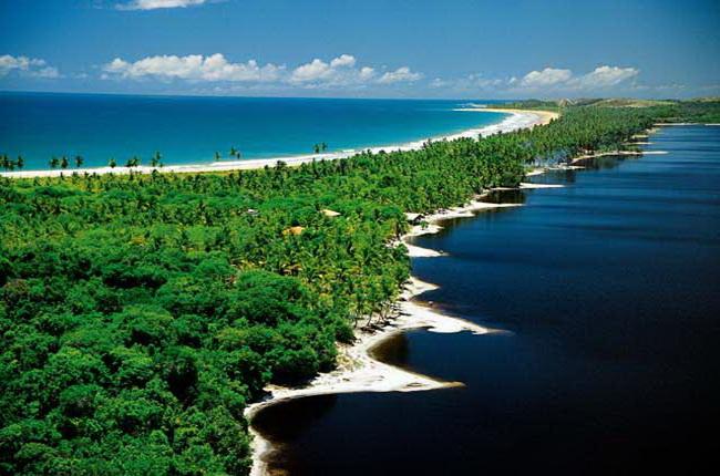Півострів Марау на півдні штату Байя