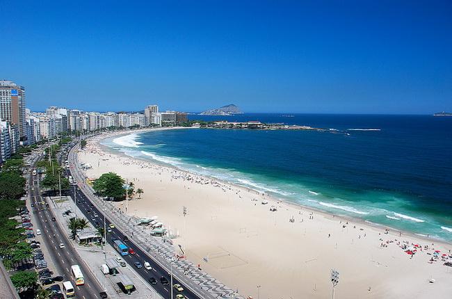 Копакабана в Ріо-де-Жанейро