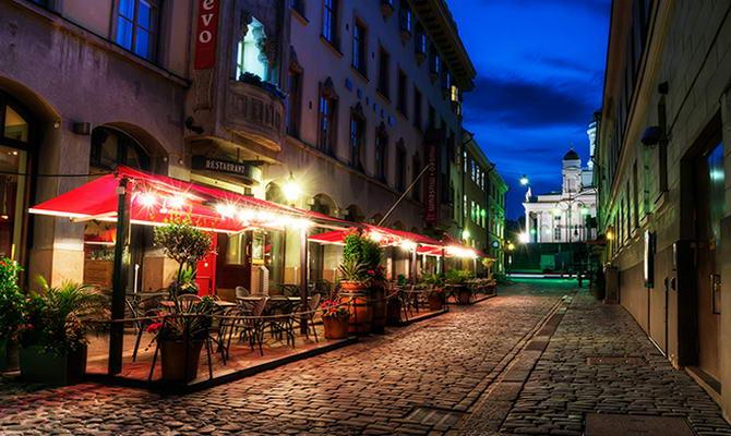 вулиці Хельсінкі