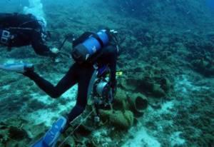 22 затонулих древніх корабля виявлені в районі острівців Фурні