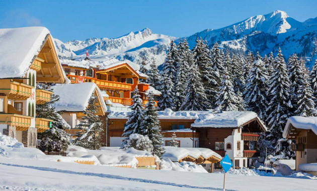 сімейні курорти Австрії