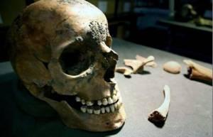 череп гладіатора