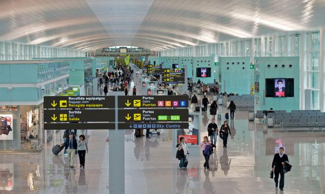 аеропорт Барселони