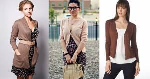 Базовий гардероб: з чим носити кардіган?