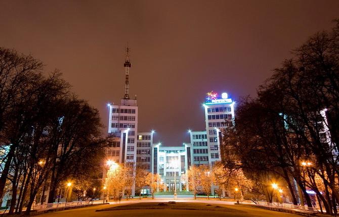 Харьков. Площадь Свободы. Вид на Госпром