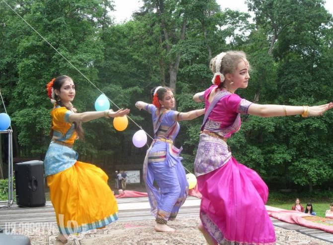 храмовые танцы в Индии