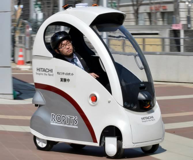 автомобиль-робот от Hitachi