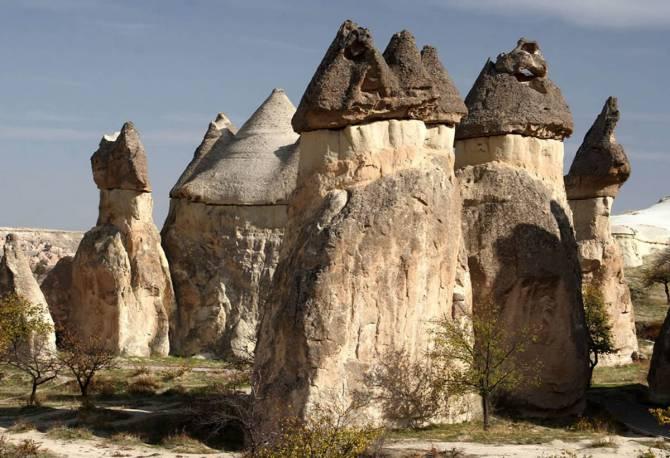Турция. Пещерные поселения Каппадокии