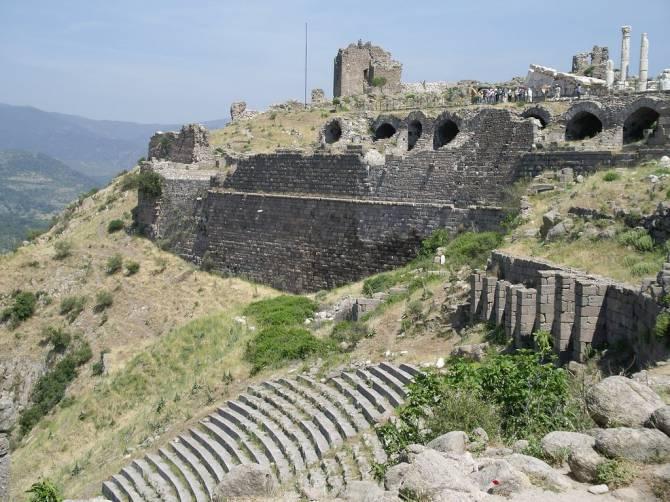 Турция. Античный город Пергам