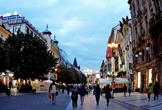 Чехия. Прогулка по вечерней Праге
