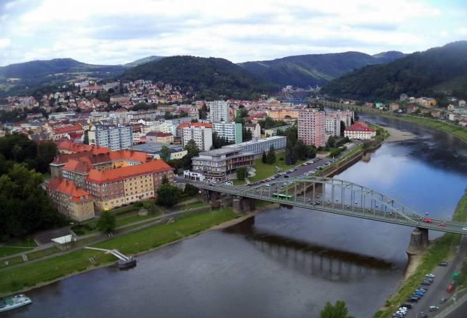 Чехия. На берегу реки Эльба