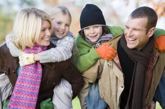 как обновить одежду для всей семьи