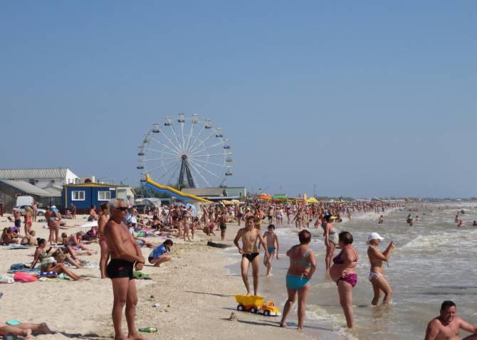 на Азовском море в Кирилловке