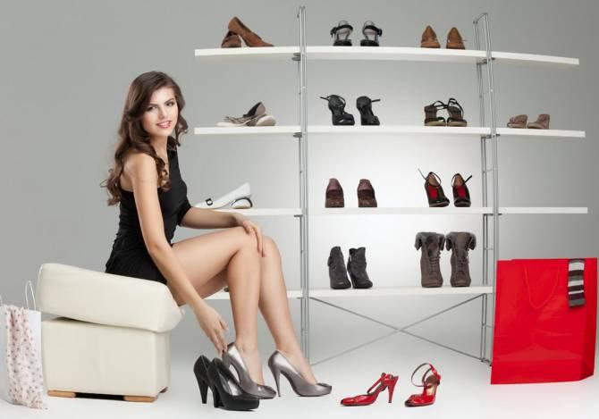 правильный выбор и покупка женской обуви
